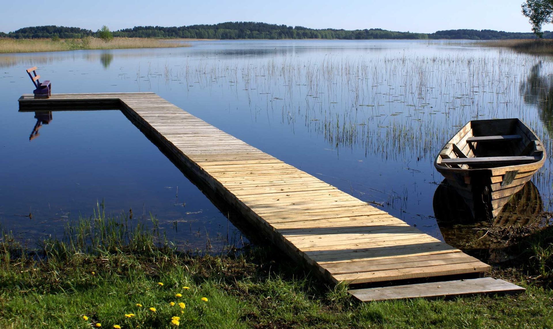 Как сделать мостушку на реке